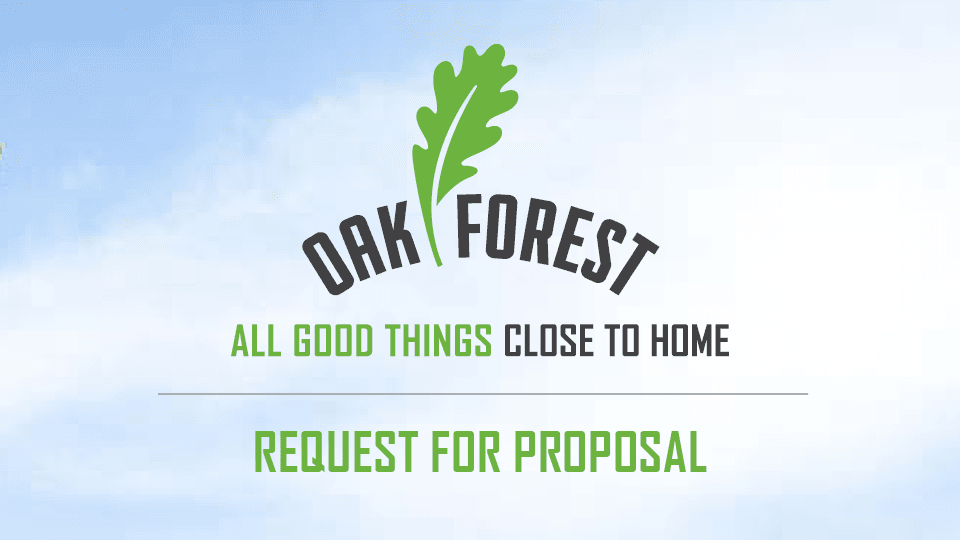 City of Oak Forest RFP